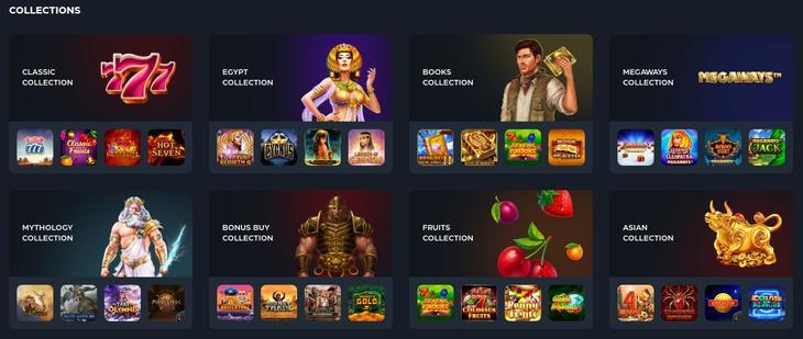 Gslot Casino games