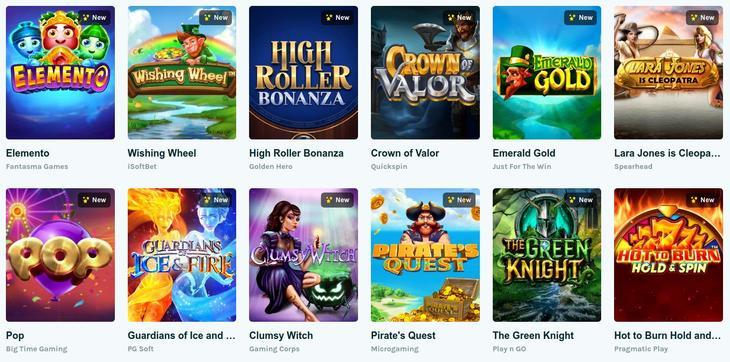 Lucky Days Casino Spelaanbod en softwaremakers