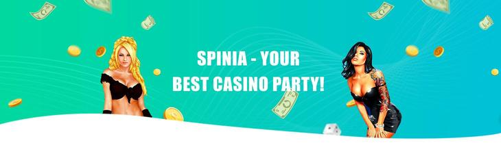 Spinia Casino about